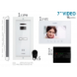 "KIT VIDEOINTERFON 7"" extra · 4 fire 1 FAMILIE"